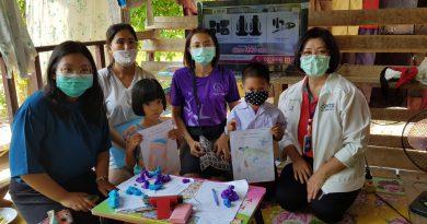 การนิเทศติดตามการทดลองจัดการเรียนการสอนทางไกล เครือข่ายทุ่งเสลี่ยม โรงเรียนบ้านธารน้ำทิพย์