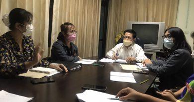 ประชุม PLC เตรียมความพร้อมการปฏิบัติงาน ปีงบประมาณ 2565